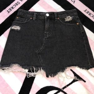 BDG Black Denim Skirt
